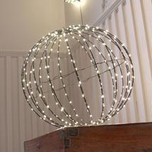 Black 400 Warm white LED 40cm Sphere
