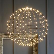 Black 440 Warm white LED 60cm Sphere