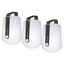 Set of 3 Balad Petite Lights - Anthracite