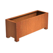 Squared Footed Planter 150 x 50 x 60