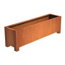 Squared Footed Planter  200 x 50 x 60