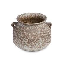 Stubby Aged Porcelain Pot