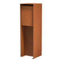 Pillar Box Corten Steel