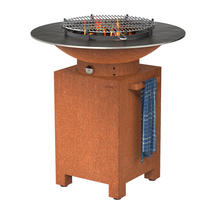 Forno Plancha Barbecue Square Base