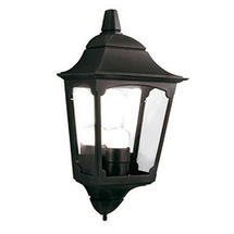 Chapel 3 Side Half Lantern Black