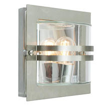 Bern Outdoor Lantern - Stainless Steel / Clear Lens