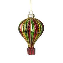 Coloured Glass Air Balloon - Red