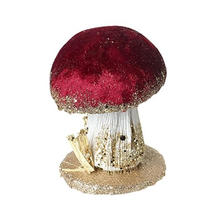 Velvet Mushrooms - Deep Red