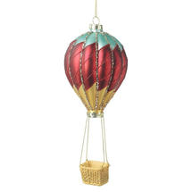 Vintage Glass Air Balloon Hanging Decoration