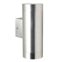 Tin Outdoor Wall Light - Satinless Steel