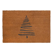 Large Abstract Christmas Tree Doormat
