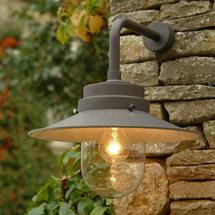 Outdoor Belfast Wall Light - Soft Taupe