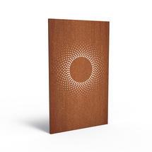 Corten Panel - Abstract Solar