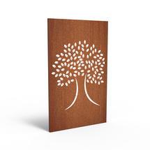 Corten Panel - Oak Tree