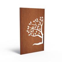 Corten Panel - Half Tree Right
