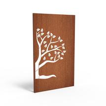 Corten Panel - Half Tree Left