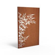 Corten Panel - Bamboo Bush