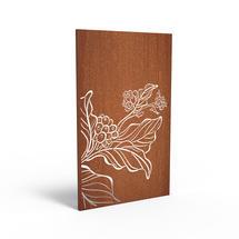 Corten Panel - Flower