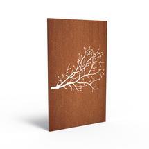 Corten Panel - Berry Twig