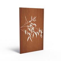 Corten Panel - Bamboo Branch