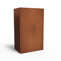 Corten Panel - Burst - Set of 5