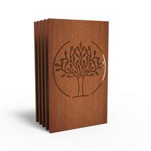CorTen Panel Mulberry Tree - Set of 5