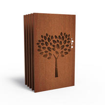 Corten Panel - Pear Tree - Set of 5
