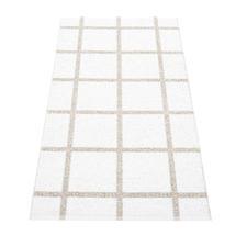 Ada - White / Stone Metallic - 70 x 150