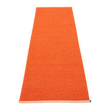 Mono - Pale Orange / Coral Red  - 70 x 200