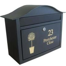 Personalised Dublin Letterbox
