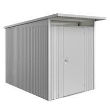 Garden Shed AvantGarde - Size A3 with Standard Door - Metallic Silver