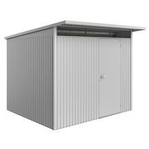 Garden Shed AvantGarde - Size A6 with Standard Door - Metallic Silver