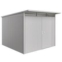 Garden Shed AvantGarde - Size A7 with Standard Door - Metallic Silver