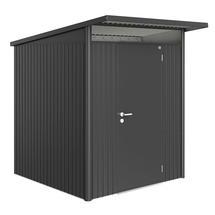 Garden Shed AvantGarde - Size A1 with Standard Door - Metallic Dark Grey