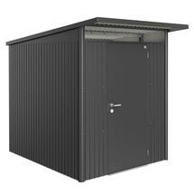 Garden Shed AvantGarde - Size A2 with Standard Door - Metallic Dark Grey