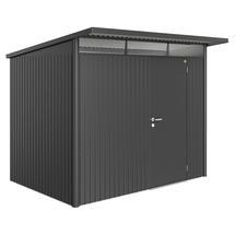 Garden Shed AvantGarde - Size A5 with Standard Door - Metallic Dark Grey