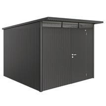 Garden Shed AvantGarde - Size A7 with Standard Door - Metallic Dark Grey