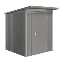 Garden Shed AvantGarde - Size A1 with Standard Door - Metallic Quartz Grey