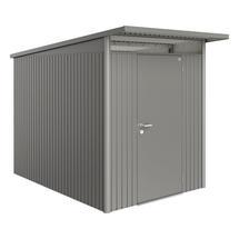 Garden Shed AvantGarde - Size A3 with Standard Door - Metallic Quartz Grey