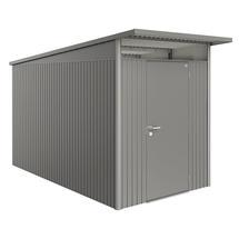 Garden Shed AvantGarde - Size A4 with Standard Door - Metallic Quartz Grey