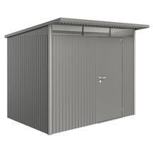 Garden Shed AvantGarde - Size A5 with Standard Door - Metallic Quartz Grey