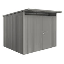 Garden Shed AvantGarde - Size A6 with Standard Door - Metallic Quartz Grey
