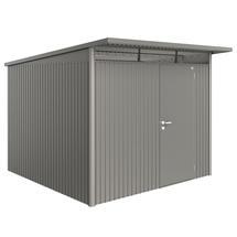 Garden Shed AvantGarde - Size A7 with Standard Door - Metallic Quartz Grey