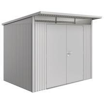 Garden Shed AvantGarde - Size A5 with Double Door - Metallic Silver