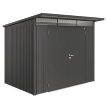 Garden Shed AvantGarde - Size A5 with Double Door - Metallic Dark Grey