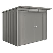 Garden Shed AvantGarde - Size A5 with Double Door - Metallic Quartz Grey