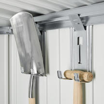 Tool Hanger for Garden Sheds / Equipment Locker - 4 Pieces