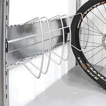 BikeHolder for StoreMax Including Support Rails