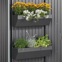 FloraBoard for AvantGarde, HighLine, Panorama - Metallic Dark Grey