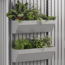 FloraBoard for AvantGarde, HighLine, Panorama - Metallic Quartz Grey